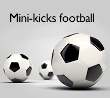 Mini kicks football