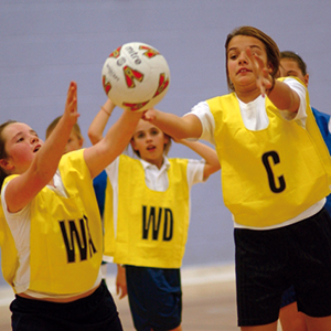 The Sports Academy includes netball